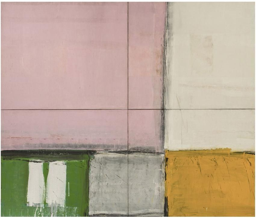 Alfred Leslie Pink Square