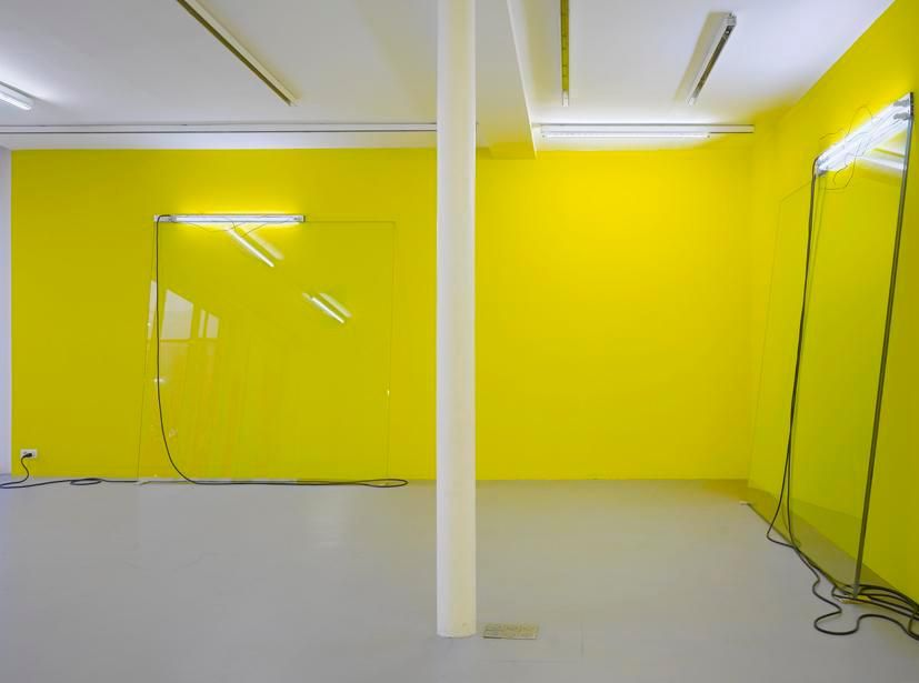 Pedro Cabrita Reis: Abstr(action).– installation view 4