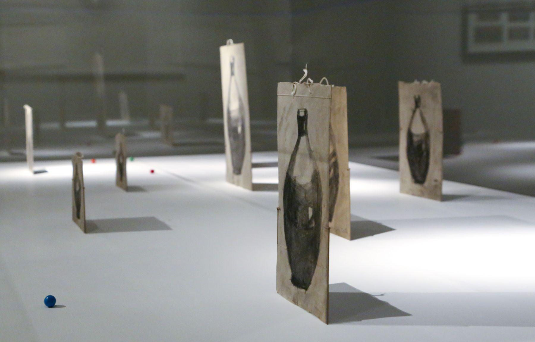 David Adamo / James Castle– installation view 10