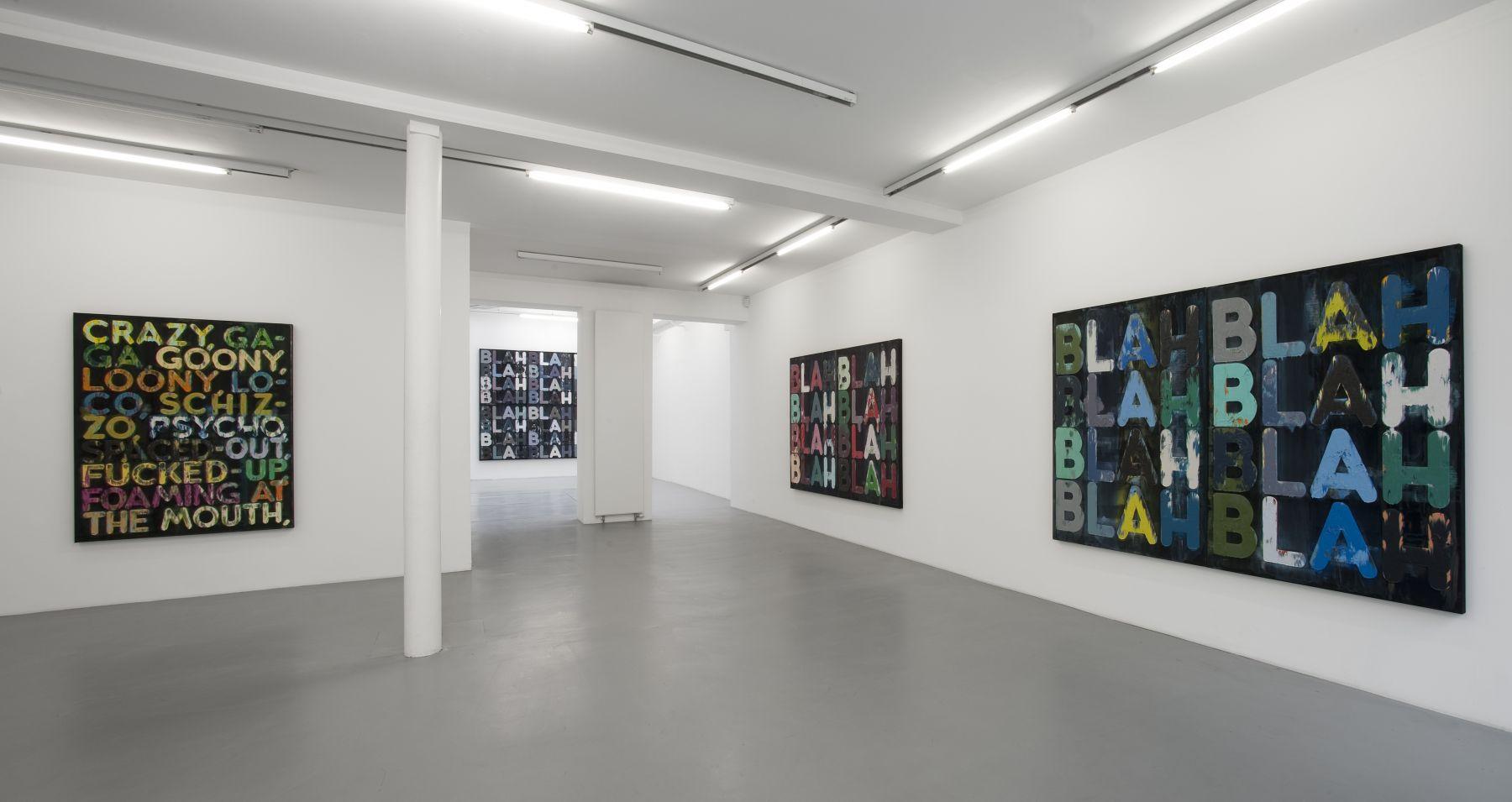 Mel Bochner– installation view 6