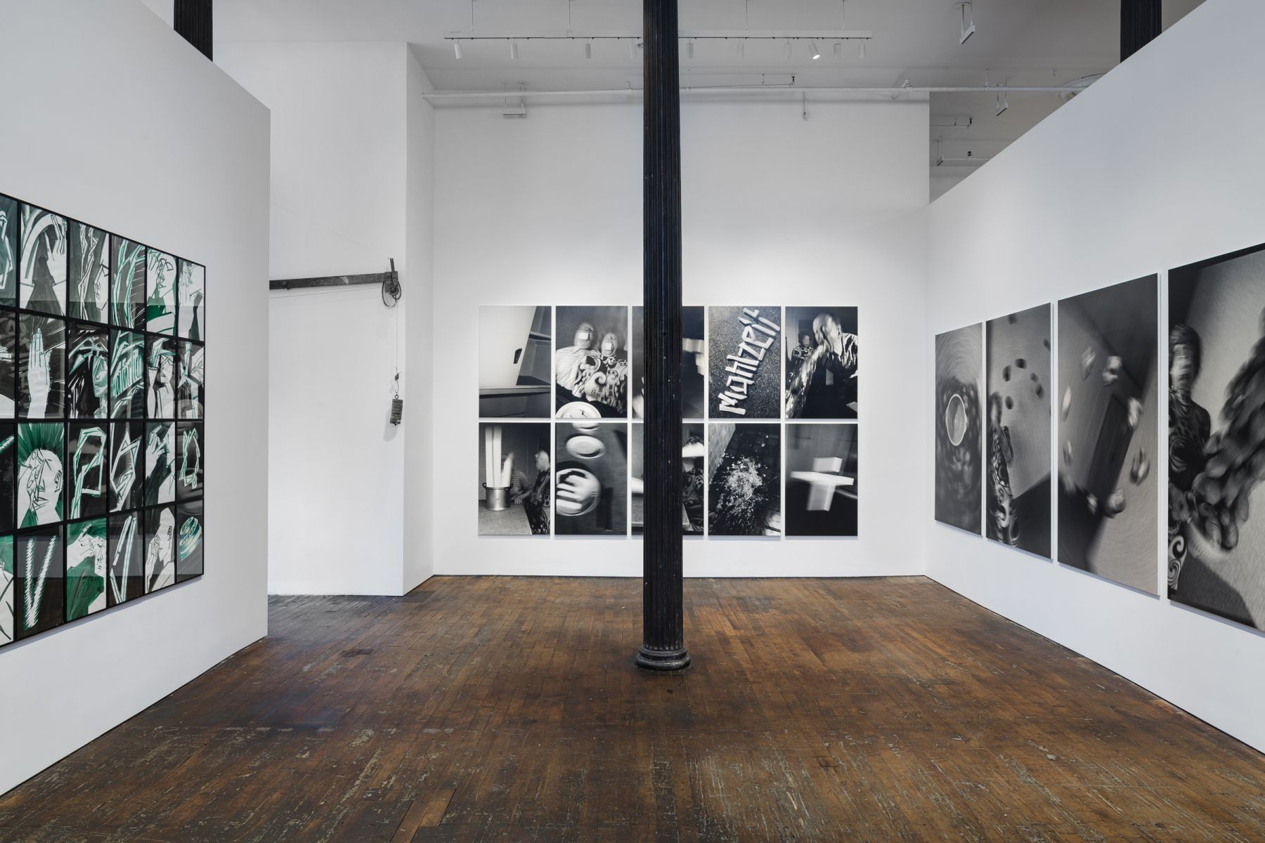 Anna and Bernhard Blume: Scenes from a Photo-Novel – installation view 2