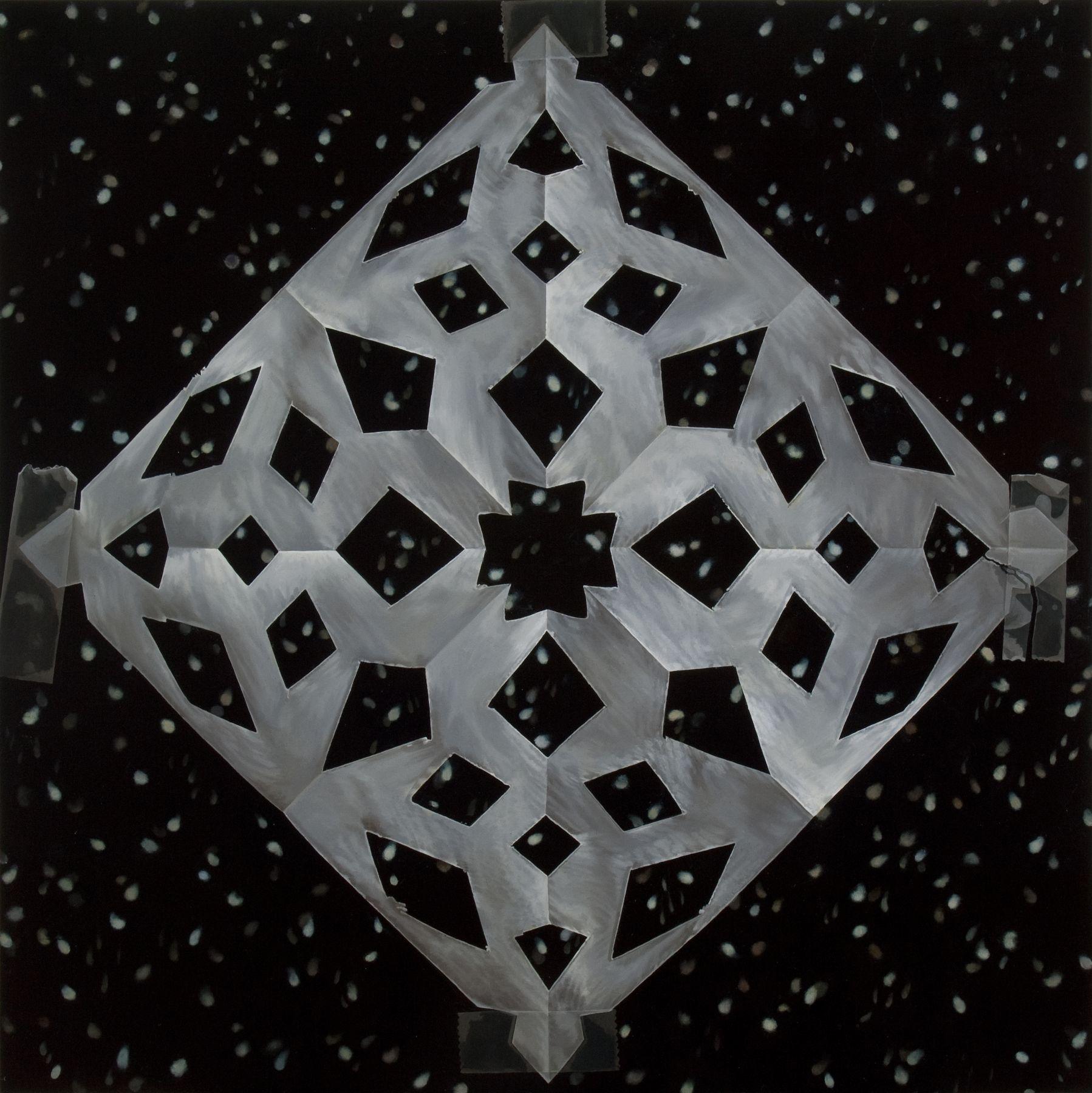 Snowflakes 2011 oil on canvas