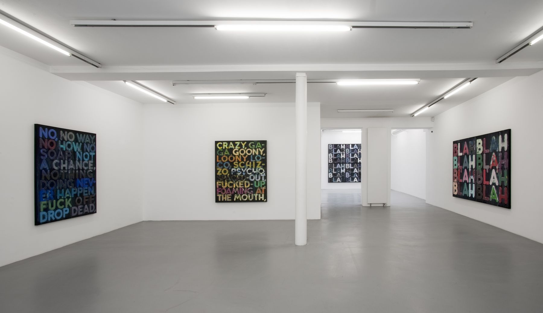 Mel Bochner– installation view 4