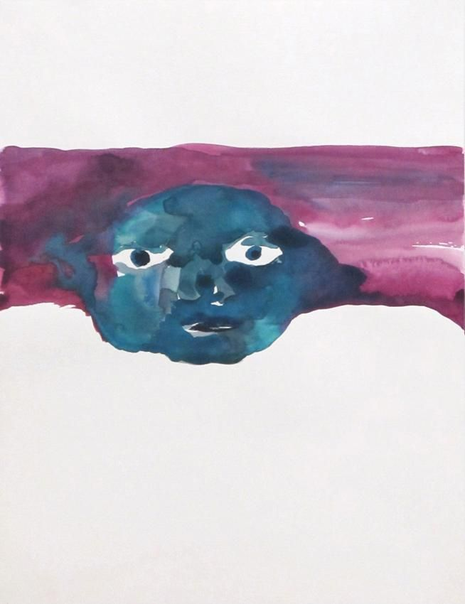 Untitled 2012 watercolor on paper