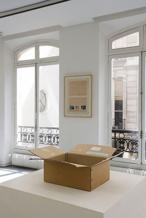 Robert Filliou:Je Meurs trop– installation view 16
