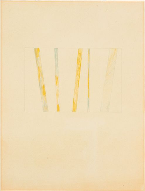 Richard Tuttle, No. 49 Stacked Color Series (4)