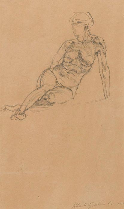 Alberto Giacometti, Nu couché