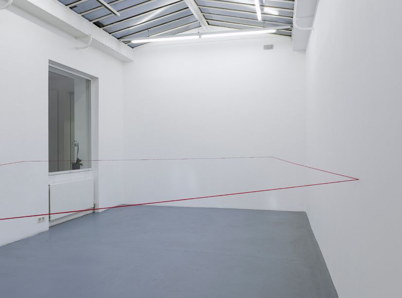 Fred Sandback– installation view 7