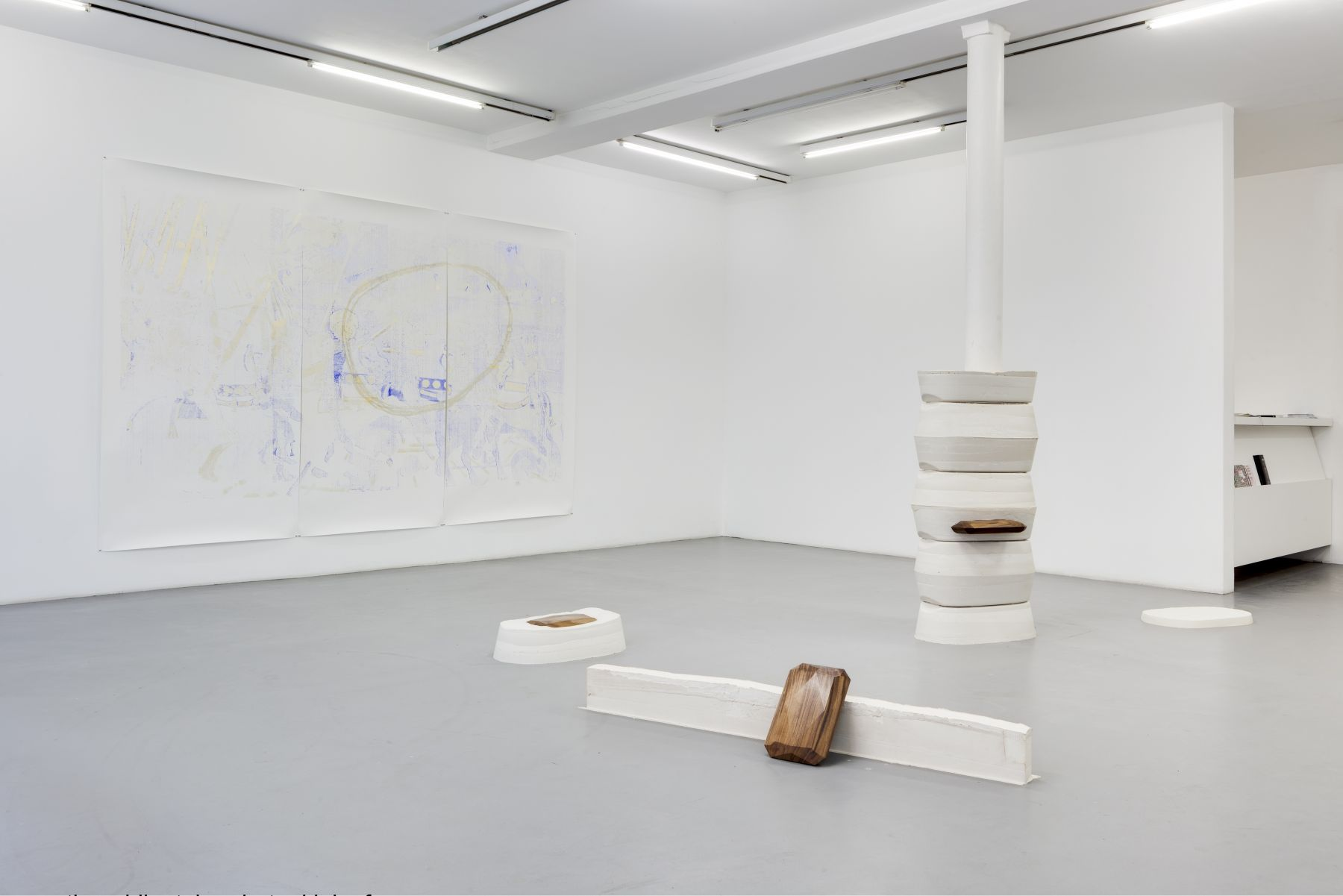 Lucy Skaer: Blanks and Ballast – installation view 1