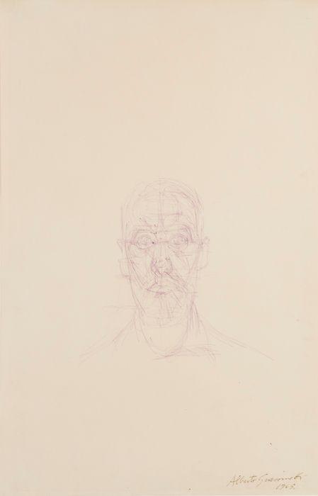 Alberto Giacometti, Portrait de Louis Chavignier