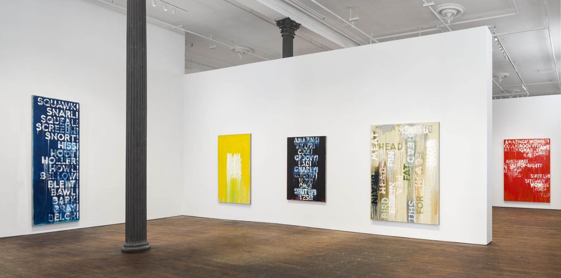 Mel Bochner: Voices – installation view 3
