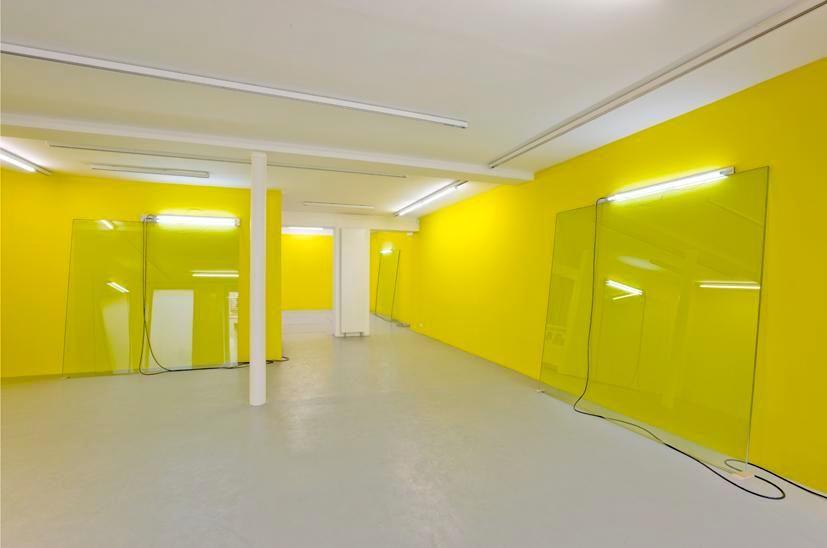 Pedro Cabrita Reis: Abstr(action).– installation view 2
