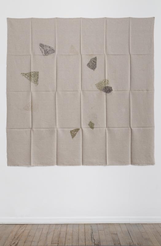 Helen Mirra Hourly directional field notation, 17 August, Handen