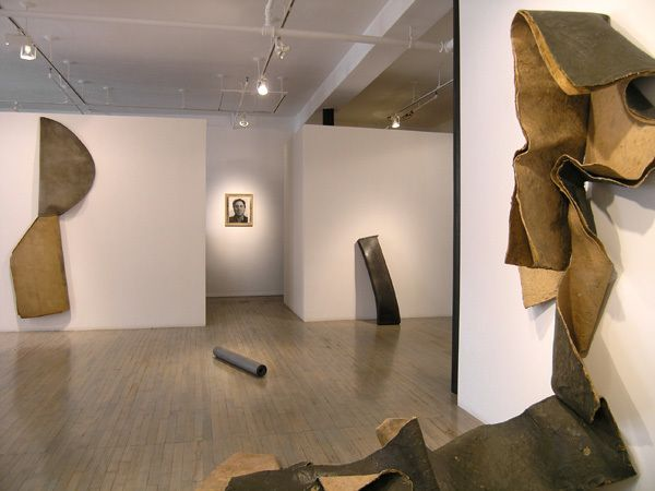 Richard Serra: Sculptures from 1967 and 1968 – installation view 1