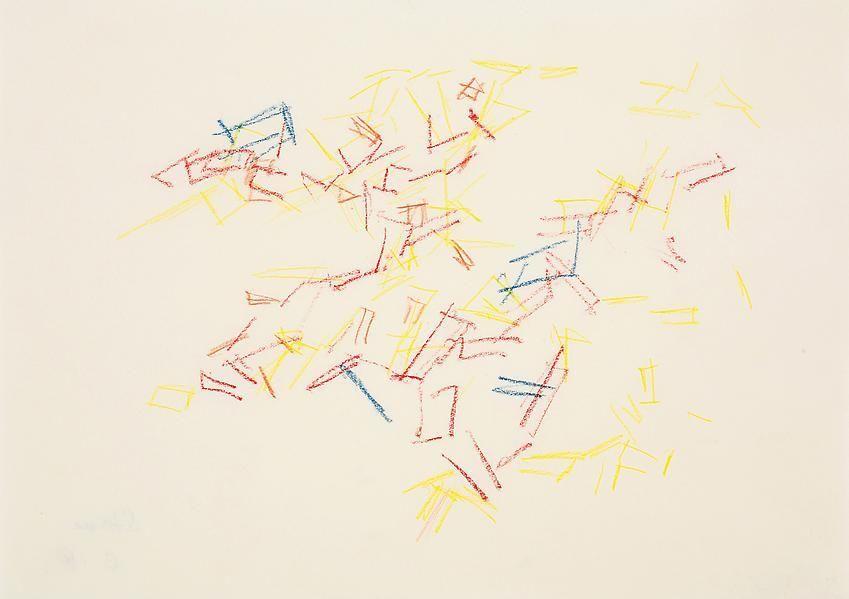 Charlotte Posenenske, Zeichnung (nach der Natur)