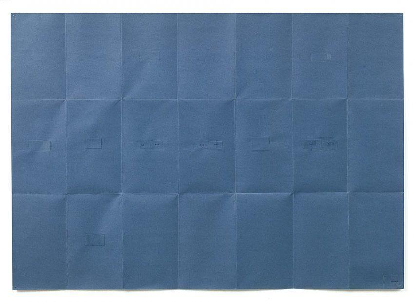 Helen Mirra, Map of 19̊S, 18̊W