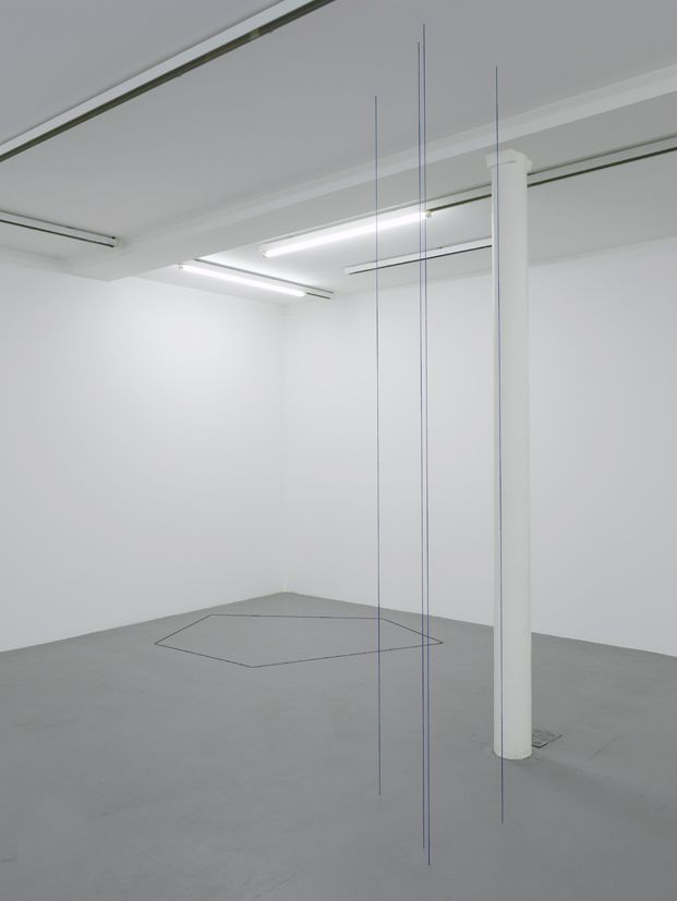 Fred Sandback– installation view 3