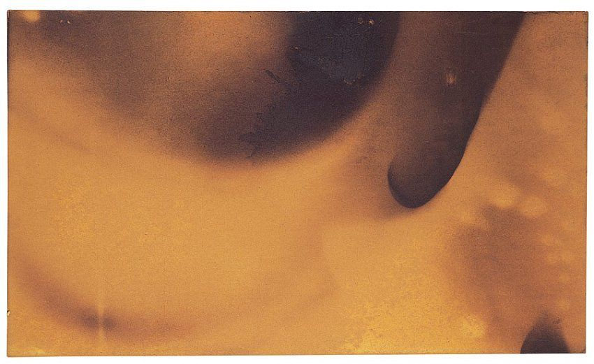 Yves Klein, Fire Painting, Untitled (F-113)