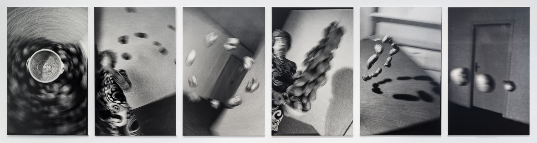 Küchenkoller 1985/2016 6 gelatin silver prints mounted on foam core