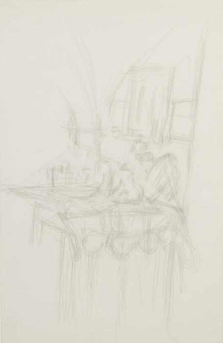 Alberto Giacometti, Intérieur à Stampa