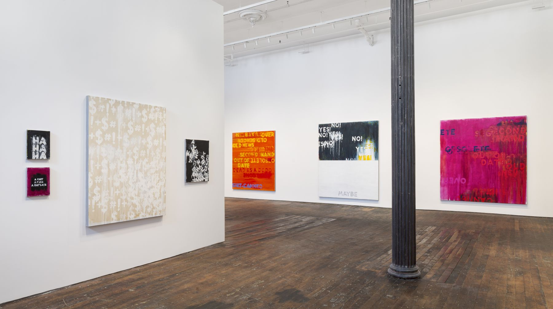 Mel Bochner: Voices – installation view 13