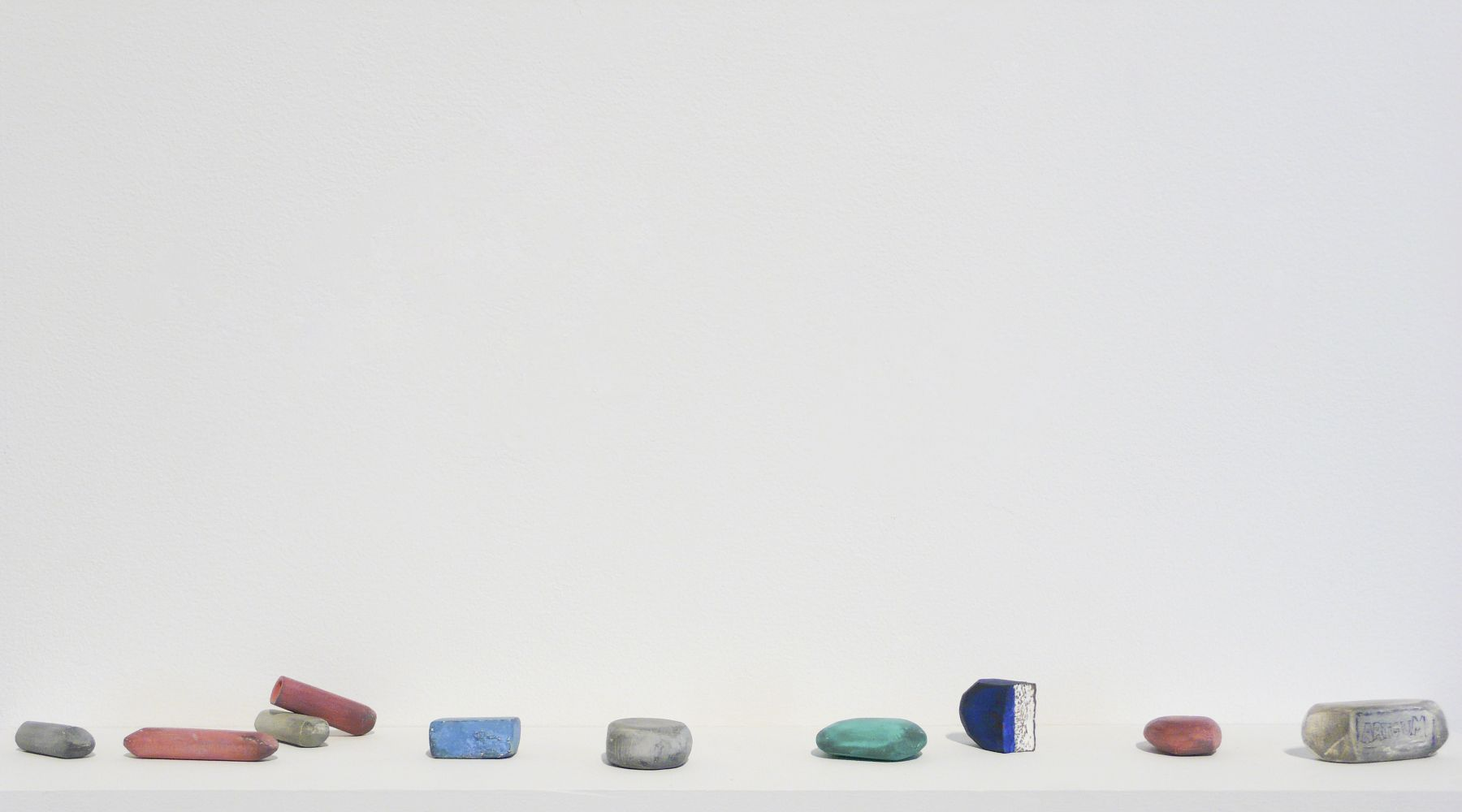 DAVID ADAMO Untitled (10 erasers)