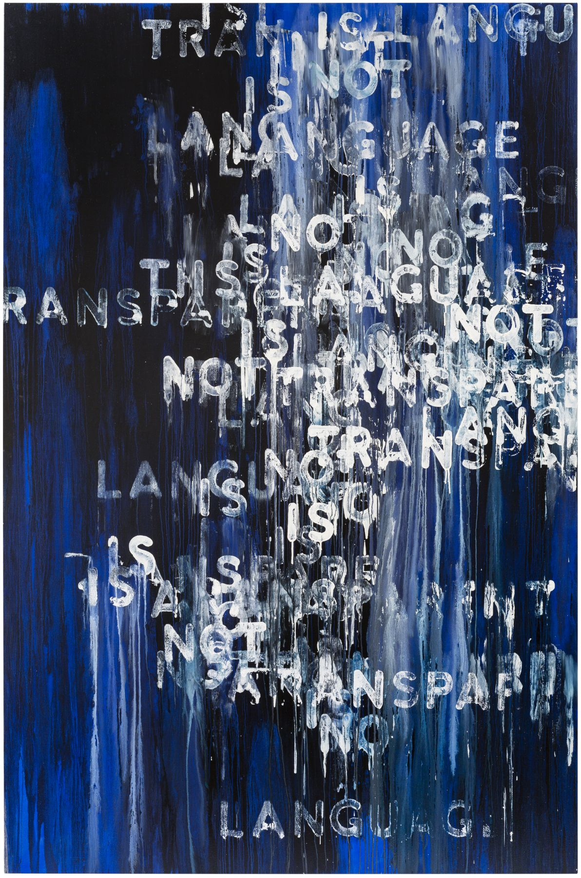 Mel Bochner Language Is Not Transparent