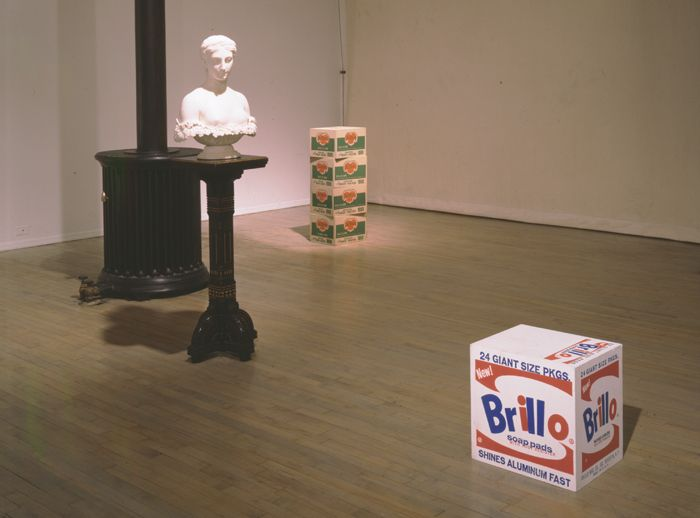 The Ideal Object: Hiram Powers (1848) and Andy Warhol (1964)– installation view 2