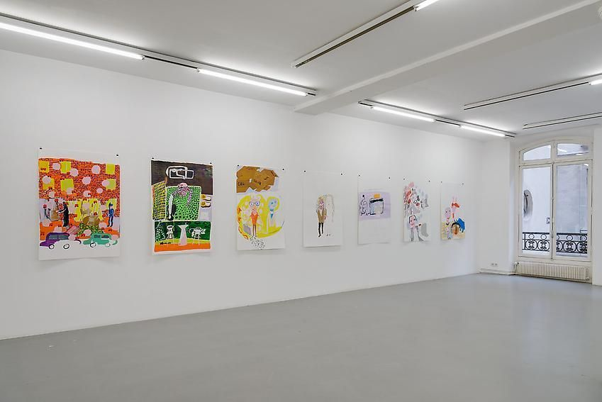 Anne-Marie Schneider – installation view 6