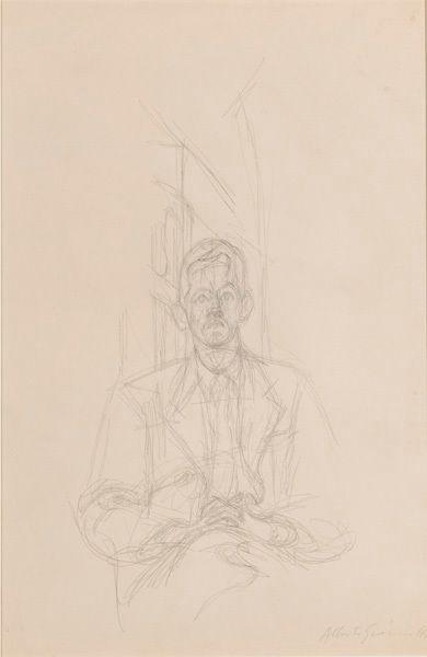 Alberto Giacometti, Portrait de James Lord