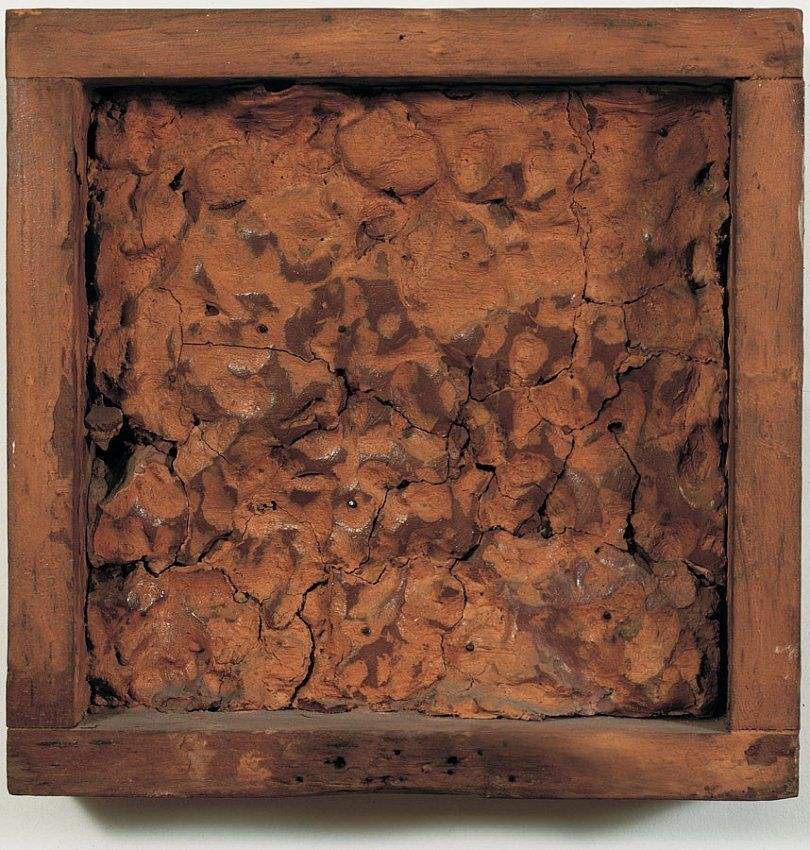 Robert Rauschenberg, Pink Clay Painting (To Pete)