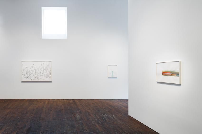 Silvia Bächli: further. evolves. – installation view 2