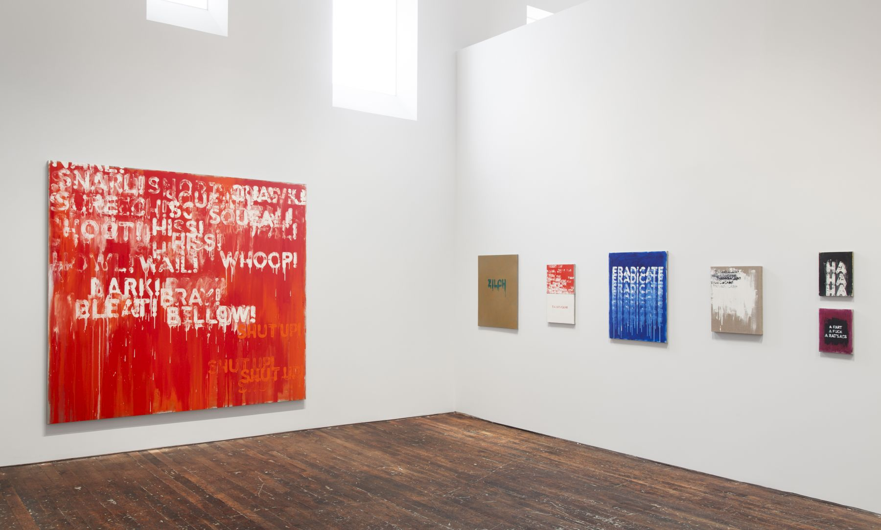 Mel Bochner: Voices – installation view 10