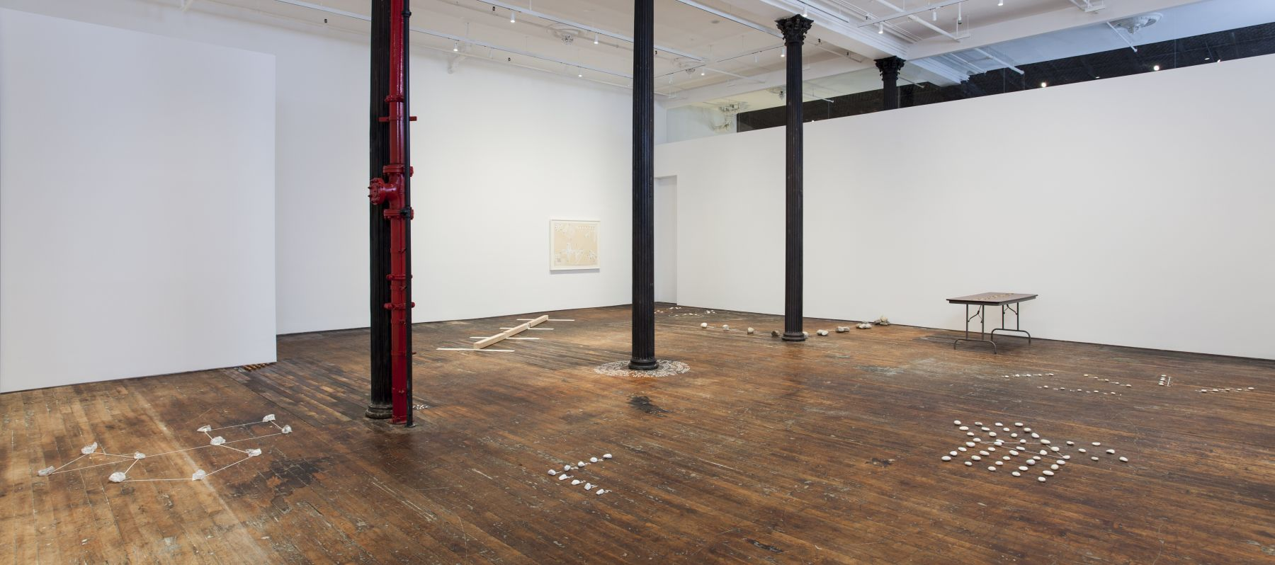 Mel Bochner, Proposition and Process: A Theory of Sculpture (1968 - 1973) – installation view 1