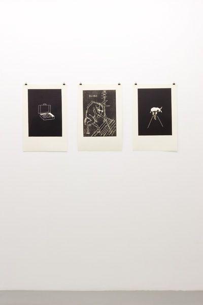 Stephen Wilks: Traveling Donkeys – installation view 2