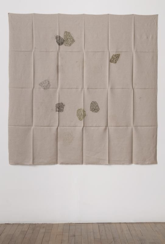 Helen Mirra, Hourly directional field notation, 8 August, Handen