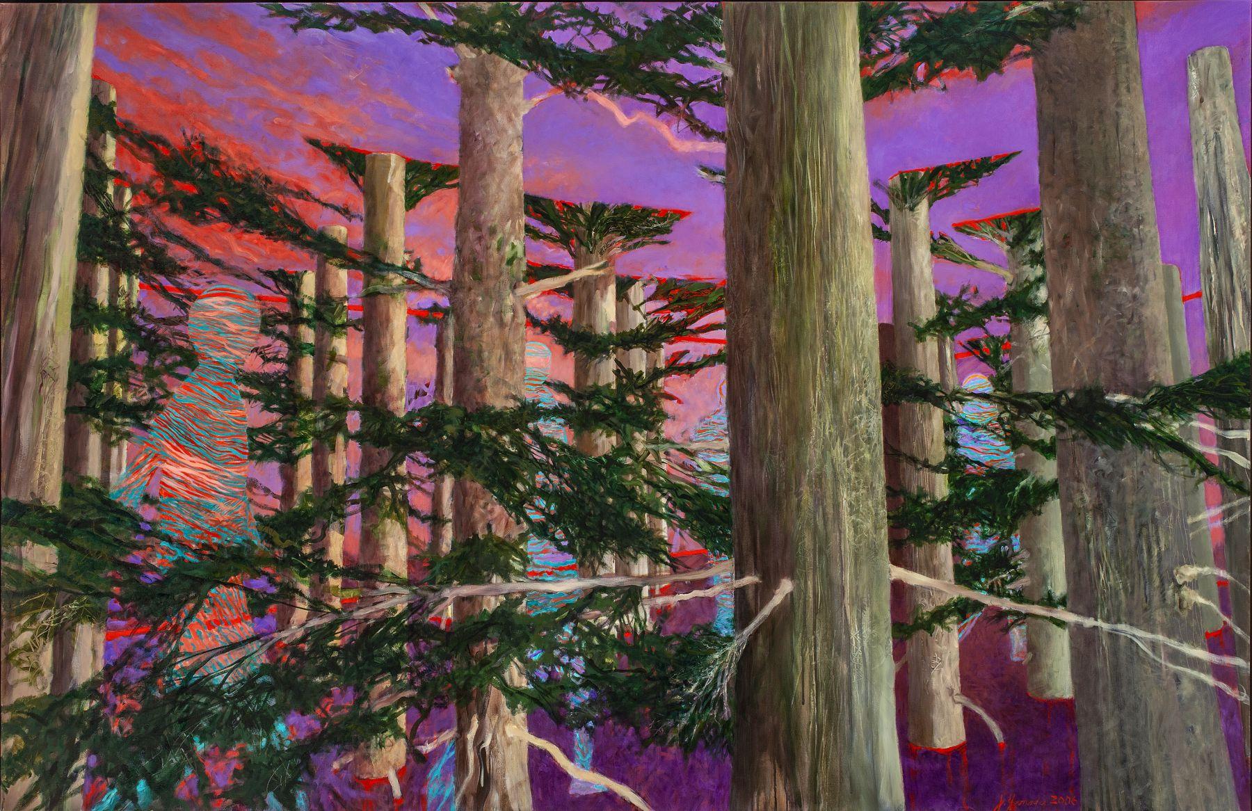Joyce Yamada, Truncated Landscape - Waterhuman