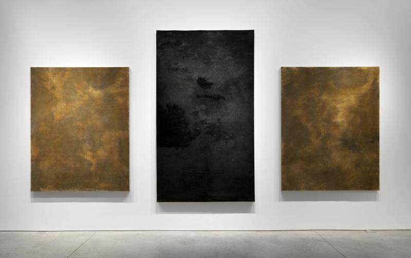 Untitled (Three felts), 2008-2014