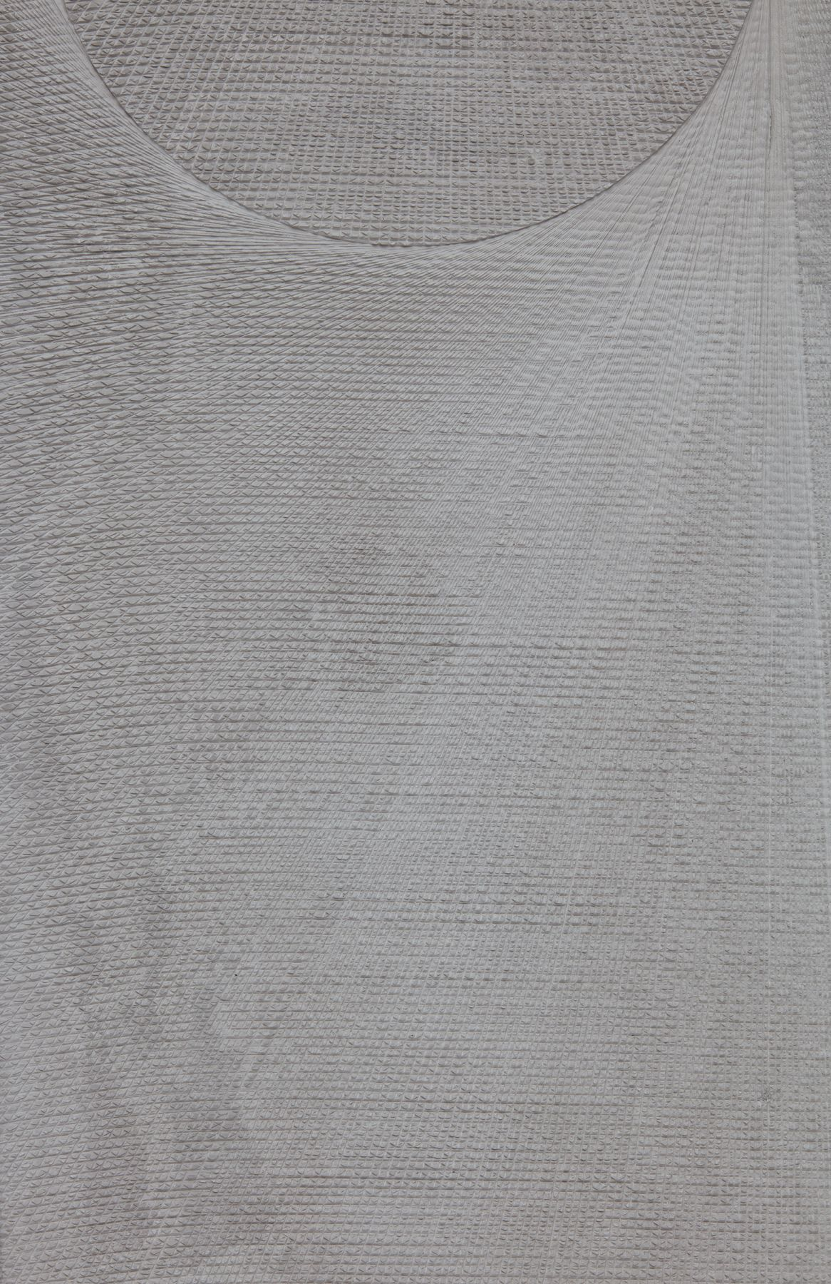 a detail of the texture on an etched plaster artowrk by anthony pearson
