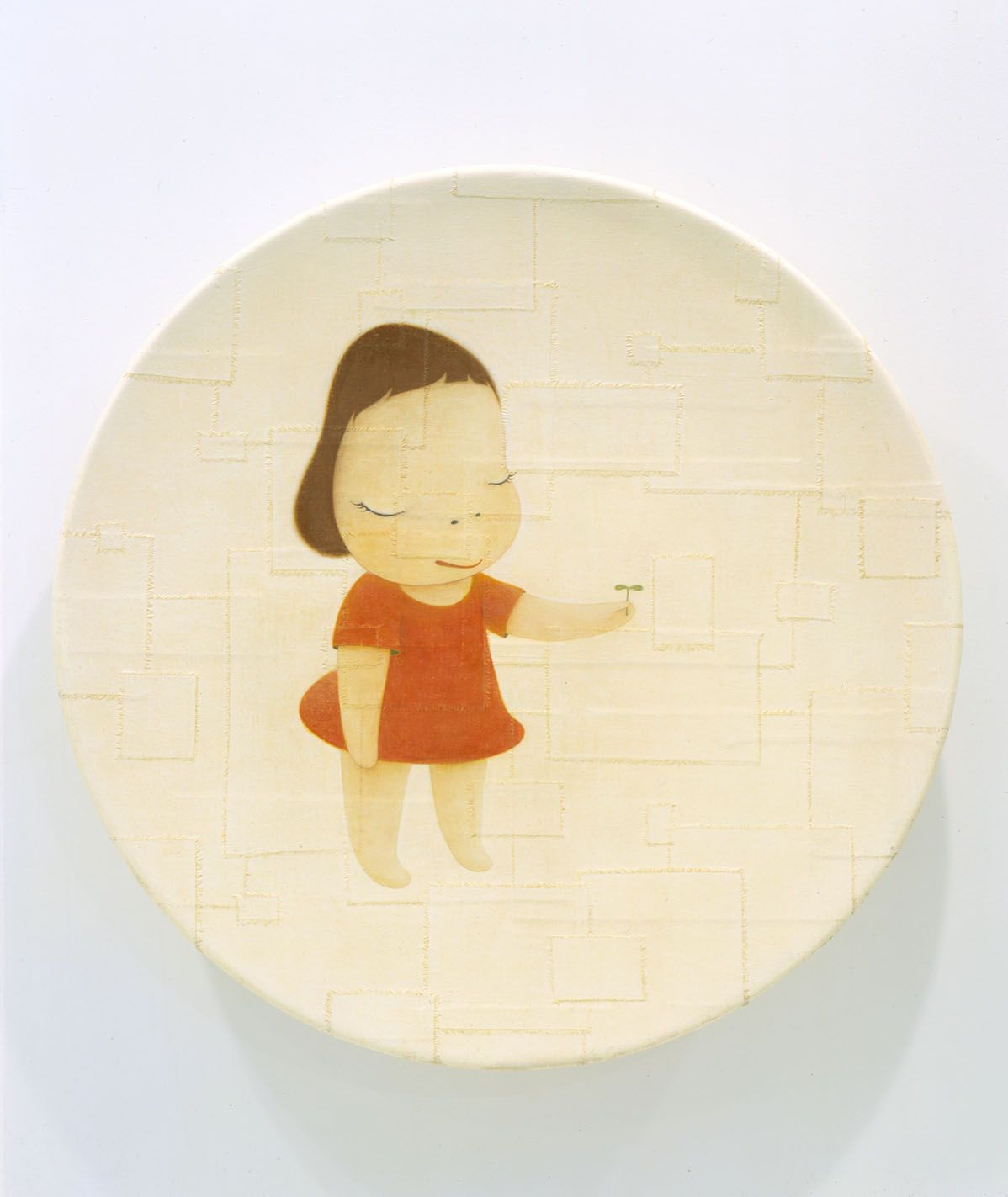 The Little Ambassador, 2002, Acrylic on canvas over fiberglass
