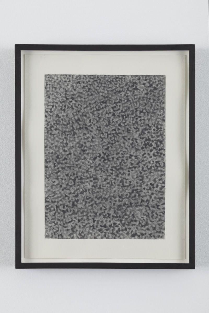 No Signal 4, 2010, Graphite on paper