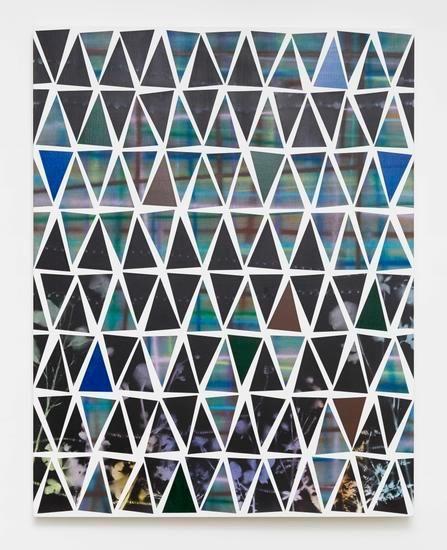 Untitled (fr.50-01), 2014, Spray paint on canvas