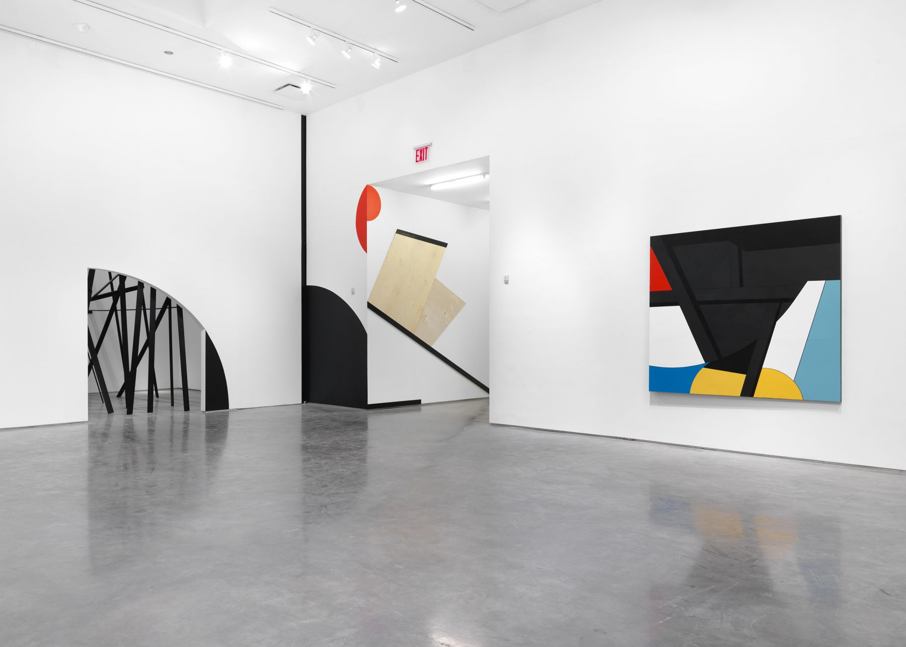 Personal Effects in BLACK(Installation View), Boesky Gallery, 2018