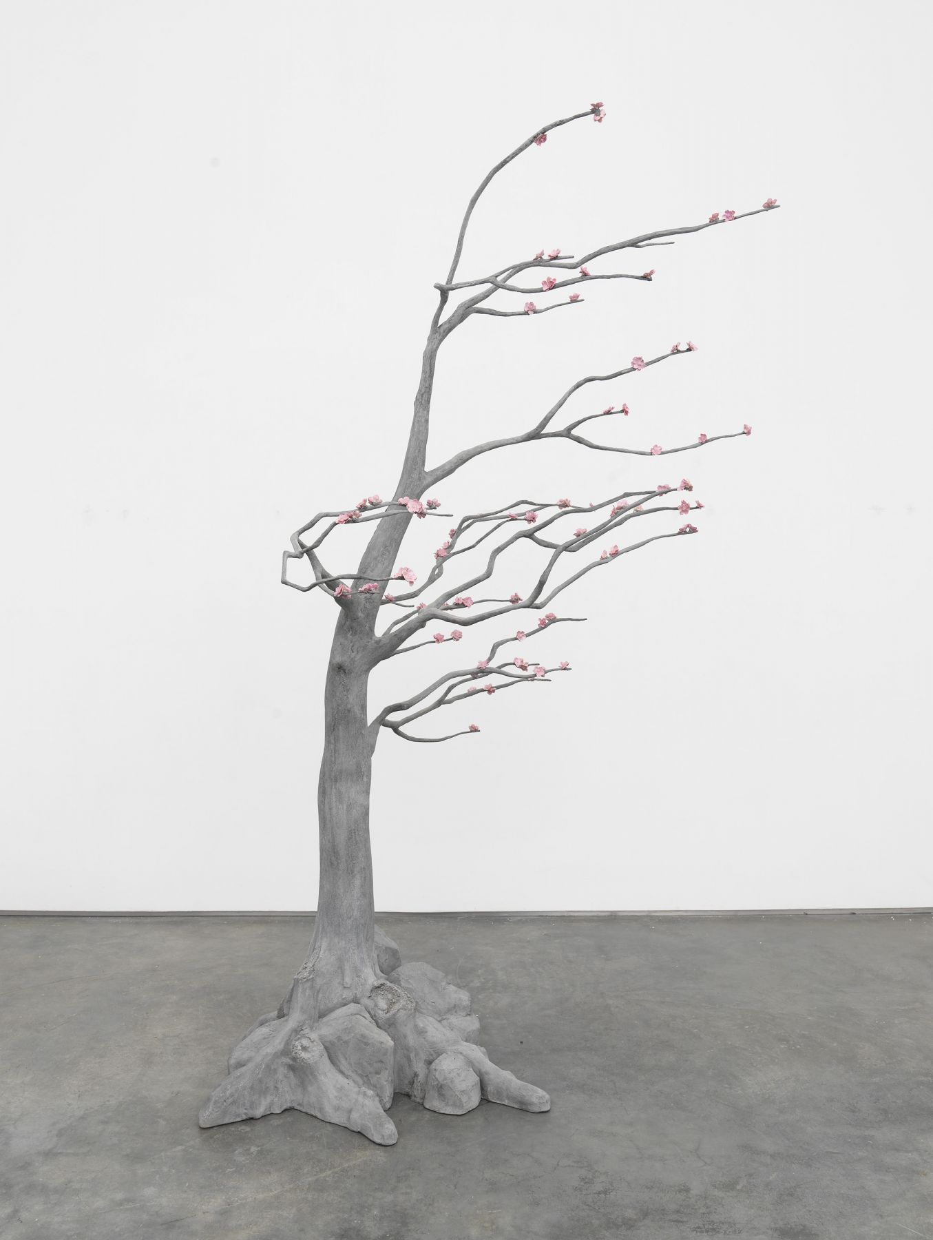 Blossom Tree (3), 2018, Steel, concrete, polyurethane, coated polyester, epoxy resin