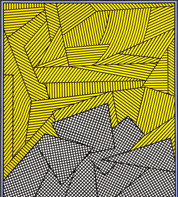 Untitled (Mango Madness), 1993, Acrylic on linen