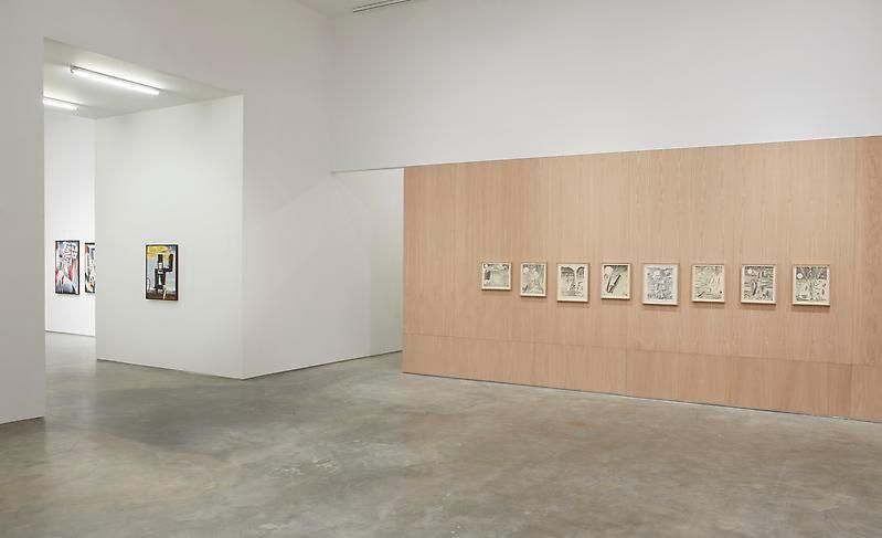 If Wishes Were Fishes(Installation View), Marianne Boesky Gallery, 2012