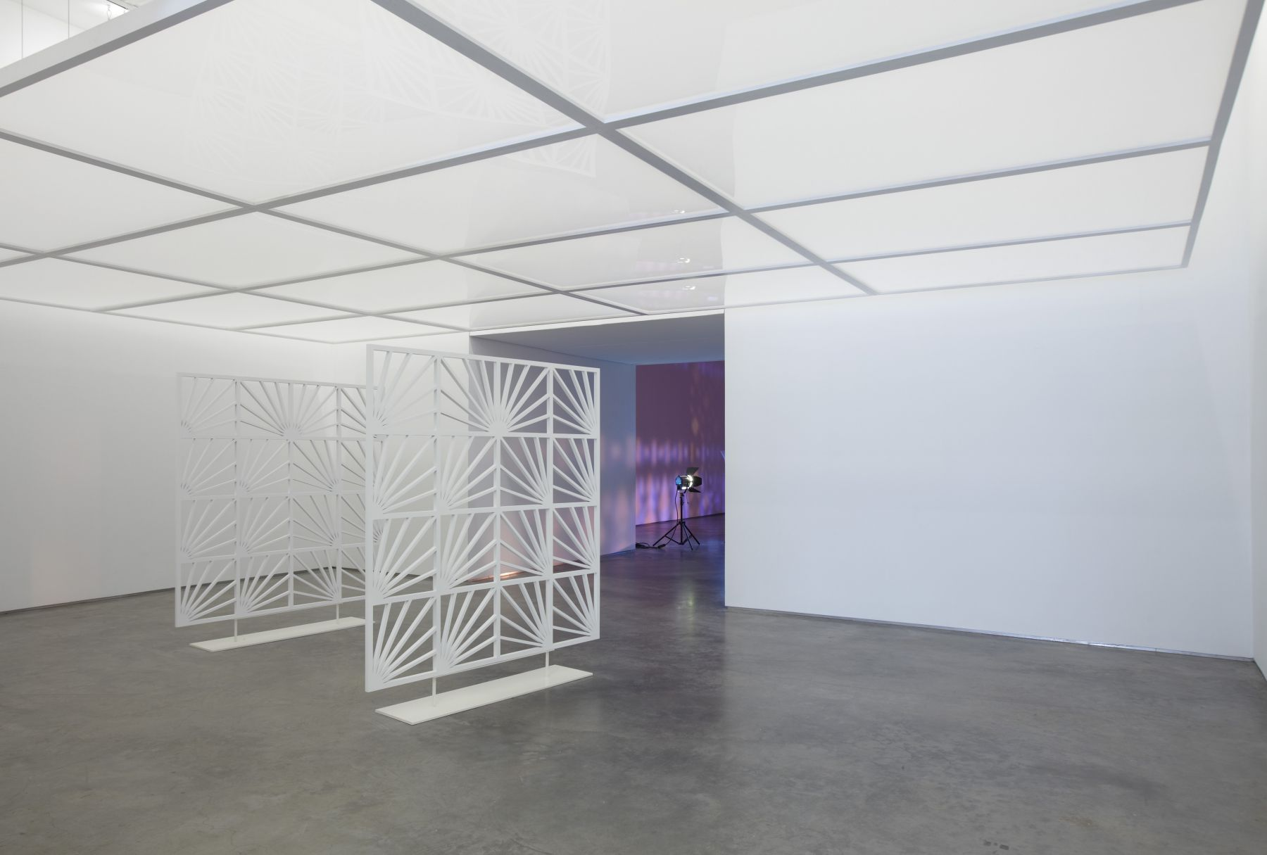 Depiction of a Star Obscured by Another Figure (Installation View), Marianne Boesky Gallery, 2011