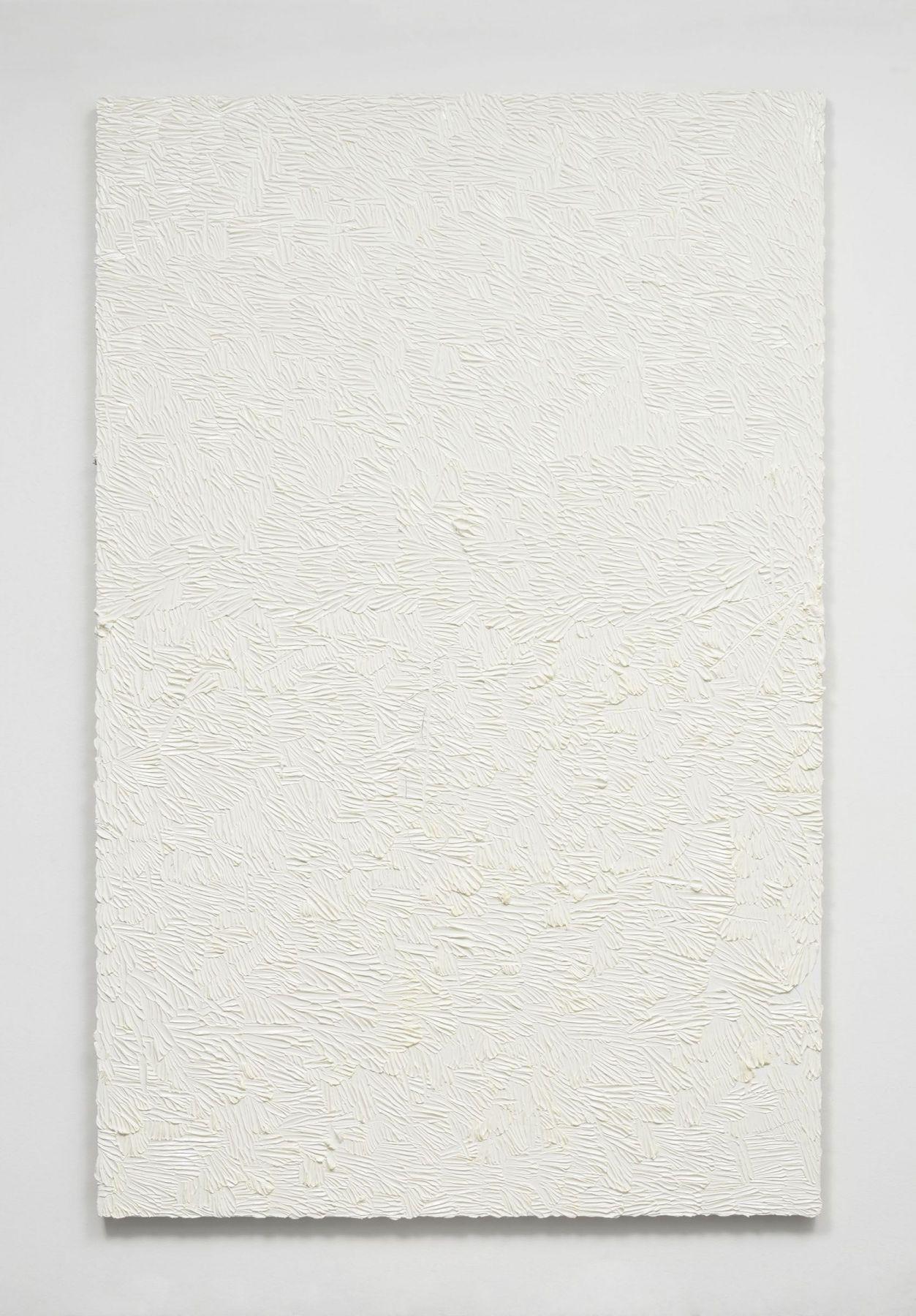 Elegy for whatever (postcript in white), 2016, Oil on linen