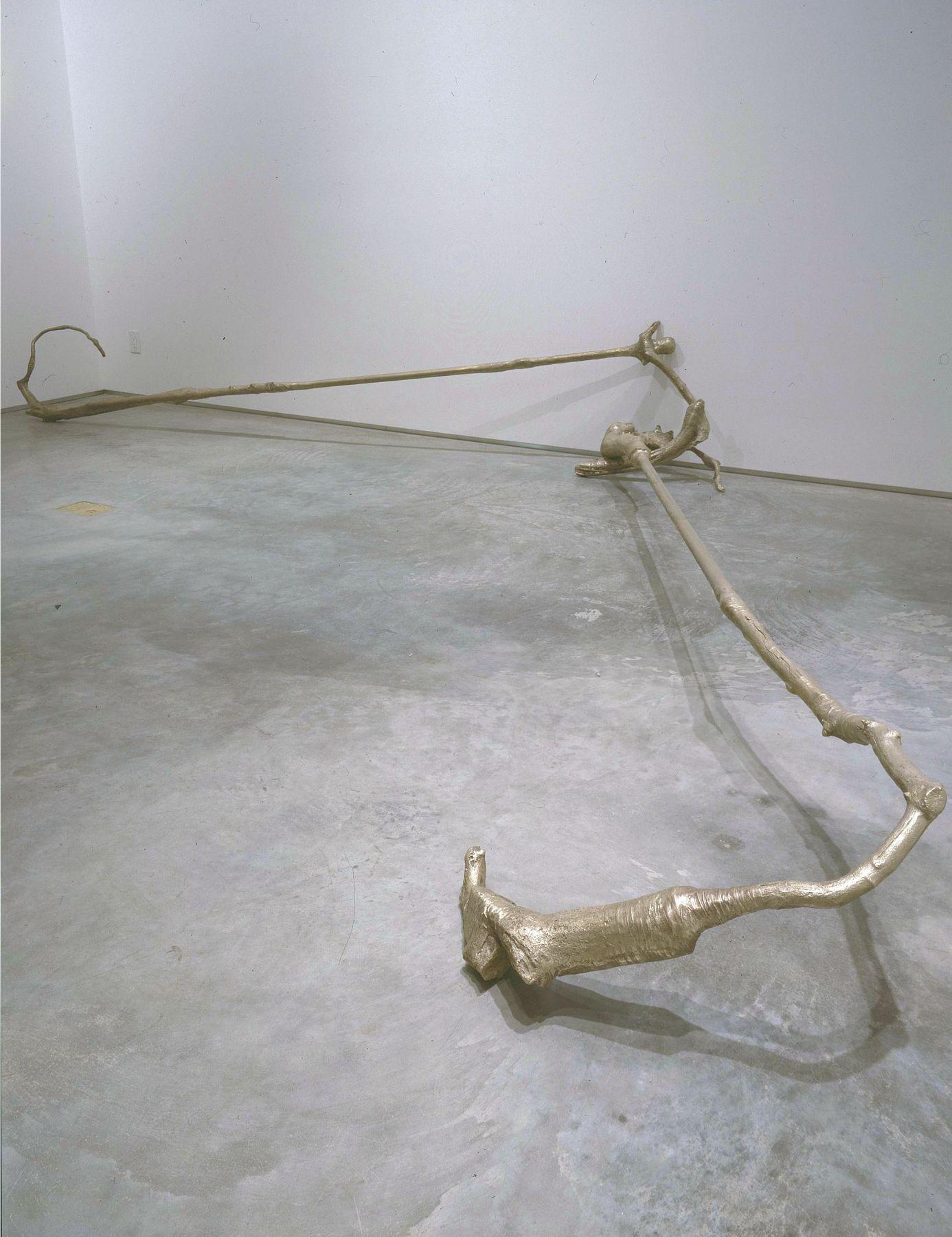 Broken Record, 2007, Bronze