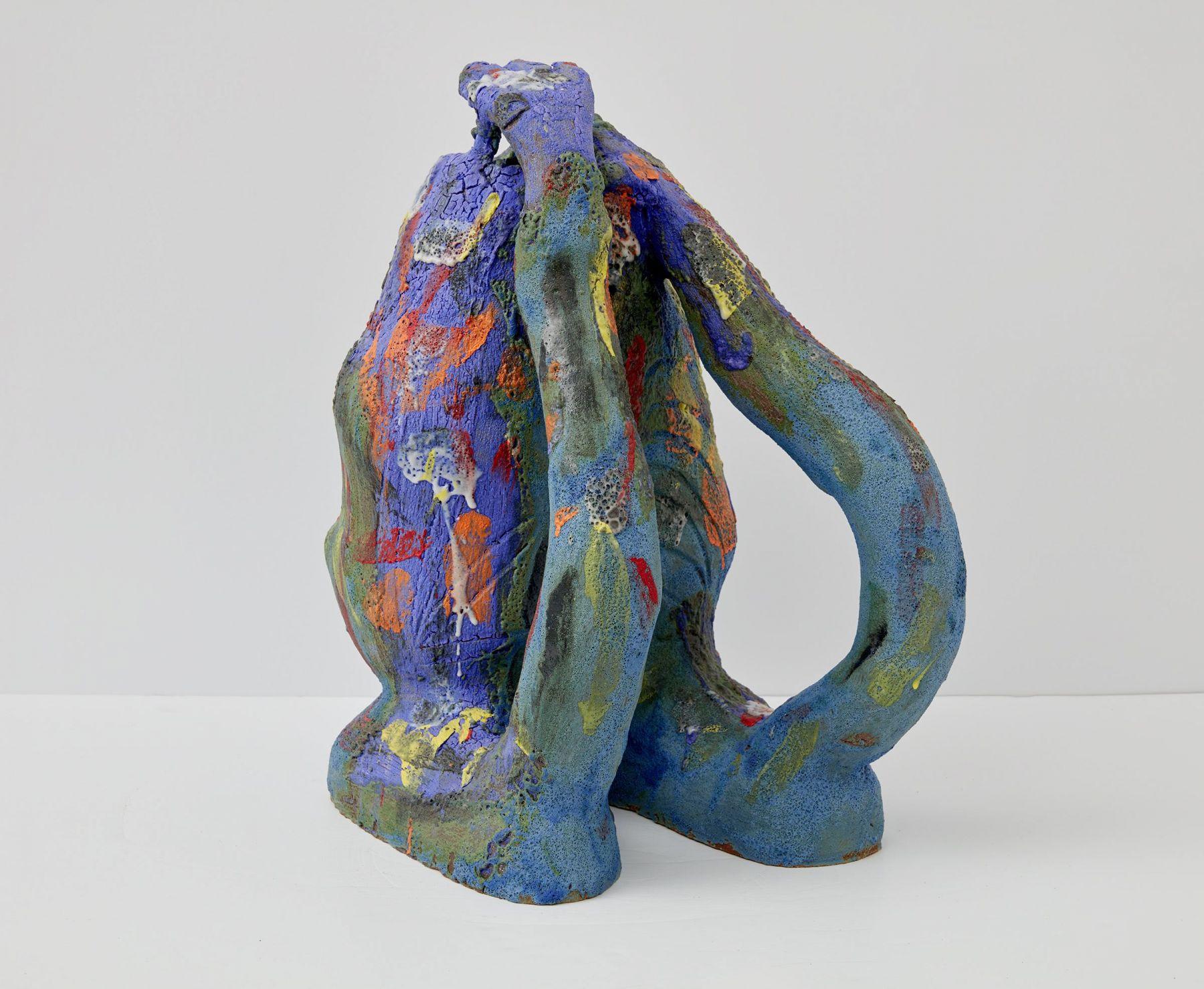 a ceramic sculpture by the ceramics artist william j. o'brien
